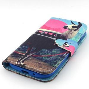 Peňaženkové puzdro pre mobil Samsung Galaxy S3 - lama - 6