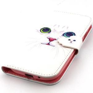 Peňaženkové puzdro pre mobil Samsung Galaxy S3 - mačička - 6