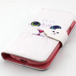 Fun peněženko puzdro na Samsung Galaxy S3 mini - kočička - 6