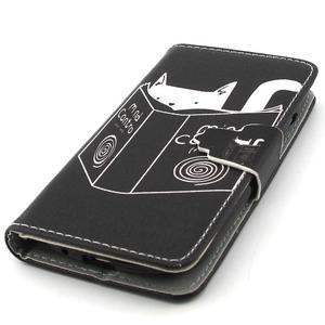 Fun peněženko puzdro na Samsung Galaxy S3 mini - kočička čte - 6