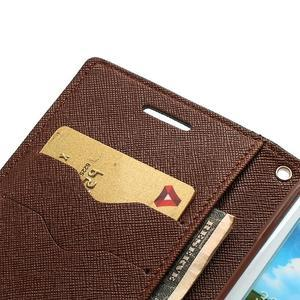 Mr. Fancy koženkové puzdro pre Samsung Galaxy S3 - čierné/hnedé - 6