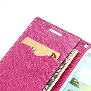 Mr. Fancy koženkové puzdro na Samsung Galaxy S3 - růžové - 6