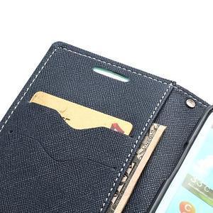 Mr. Fancy koženkové puzdro pre Samsung Galaxy S3 - azúrové - 6