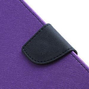Mr. Fancy koženkové puzdro na Samsung Galaxy S3 - fialové - 6
