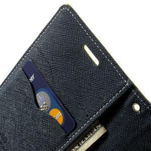 Diary PU kožené puzdro pre Samsung Galaxy S5 mini - zelené - 6