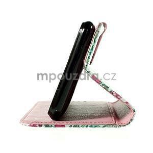 Koženkové puzdro pre mobil Sony Xperia E4 - Eiffelova veža - 6