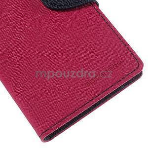 Ochranné puzdro pre Sony Xperia M4 Aqua - rose/tmavomodré - 6