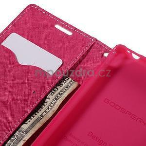Ochranné puzdro pre Sony Xperia M4 Aqua - ružové/rose - 6