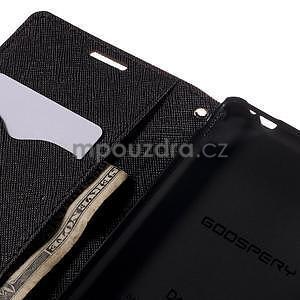 Ochranné puzdro pre Sony Xperia M4 Aqua - hnedé/čierne - 6