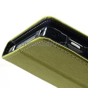 Fancy peněženkové pouzdro na mobil Sony Xperia Z1 - zelené - 6