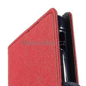 Peňaženkové puzdro pre mobil Sony Xperia Z3 - červené - 6