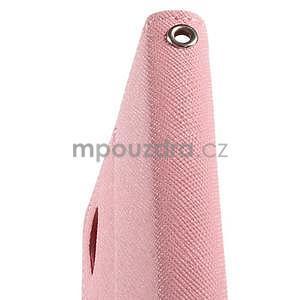 Peňaženkové puzdro pre mobil Sony Xperia Z3 - ružové - 6