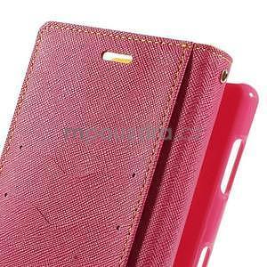 Peňaženkové puzdro pre mobil Sony Xperia Z3 - žlté - 6