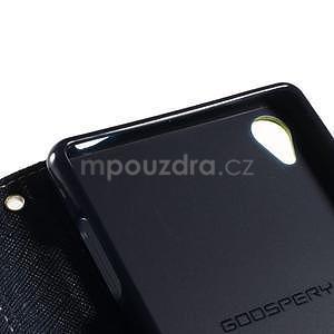 Peňaženkové puzdro pre mobil Sony Xperia Z3 - zelené - 6
