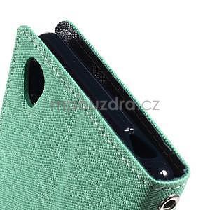 Peňaženkové puzdro pre mobil Sony Xperia Z3 - azurové - 6