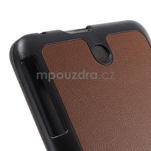 Supreme polohovateľné puzdro pre tablet Asus Memo Pad 7 ME176C - hnedé - 6