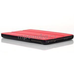 """Troch polohové puzdro na tablet Lenovo IdeaTab Miix 3 8 """"- červené - 6"""