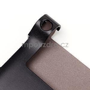 Koženkové puzdro pre Lenovo Yoga Tablet 2 8.0 - čierne - 6
