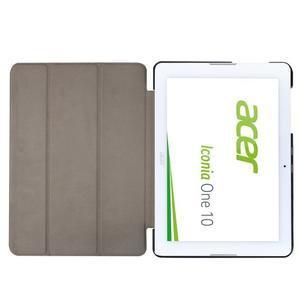 Trojpolohové puzdro pre tablet Acer Iconia One 10 B3-A20 - hnedé - 6