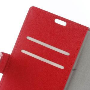 Gregory peňaženkové puzdro pre Acer Liquid Z520 - červené - 6