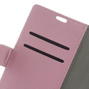 Gregory peňaženkové puzdro pre Acer Liquid Z520 - ružové - 6