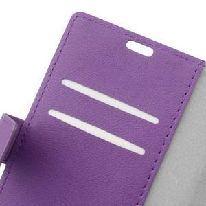 Gregory peňaženkové puzdro pre Acer Liquid Z520 - fialové - 6