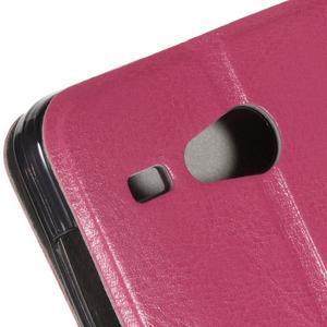 Horse peňaženkové puzdro pre Acer Liquid Z520 - rose - 6