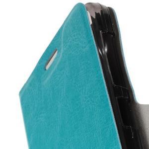 Horse peněženkové pouzdro na Acer Liquid Z520 - modré - 6