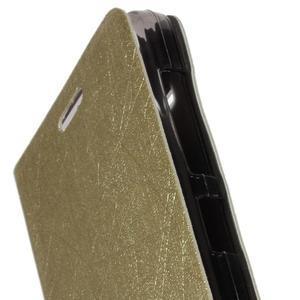 Lines puzdro pre Acer Liquid Z520 - zlaté - 6