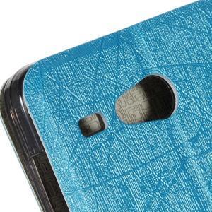Lines pouzdro na Acer Liquid Z520 - modré - 6