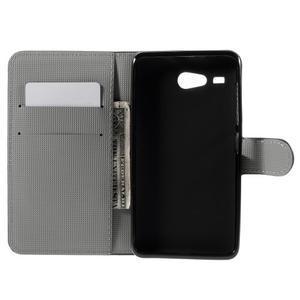 Nice koženkové puzdro pre mobil Acer Liquid Z520 - magičtí motýľci - 6