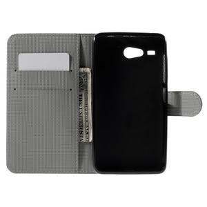 Nice koženkové puzdro pre mobil Acer Liquid Z520 - kotva - 6