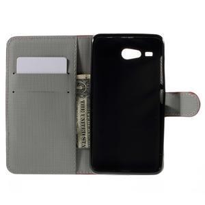 Nice koženkové puzdro pre mobil Acer Liquid Z520 - US vlajka - 6