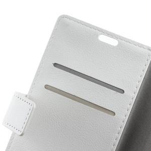 Gregory peňaženkové puzdro pre Acer Liquid Z520 - biele - 6