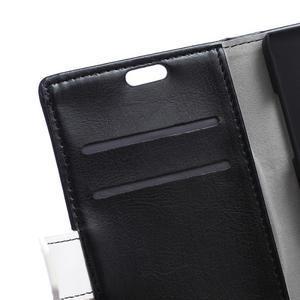 Lines PU kožené pouzdro na Acer Liquid Z530 - černé - 6