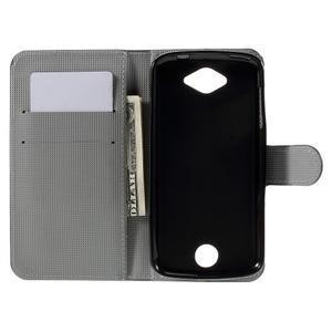 Valet peňaženkové puzdro pre Acer Liquid Z530 - soví rodinka - 6