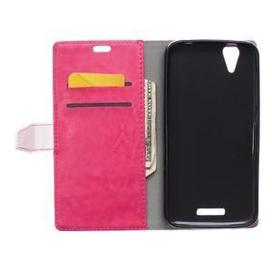 Lines pouzdro na mobil Acer Liquid Z630 - rose - 6