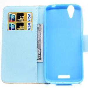 Peněženkové pouzdro na mobil Acer Liquid Z630 - peříčka - 6