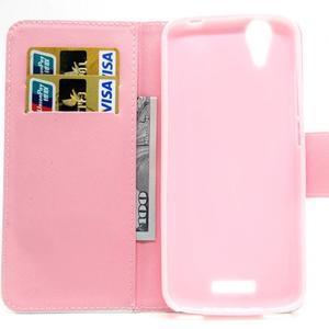 Peňaženkové puzdro pre mobil Acer Liquid Z630 - púpavy - 6