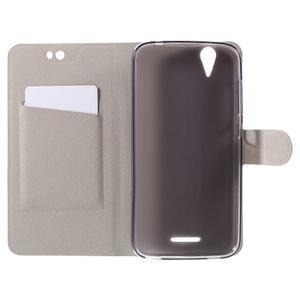 Horse peňaženkové puzdro pre Acer Liquid Z630 - čierné - 6