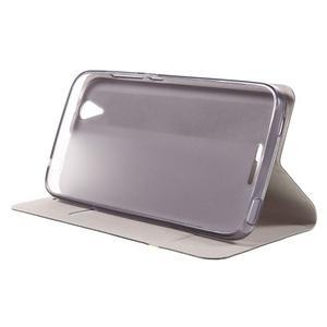 Horse peňaženkové puzdro pre Acer Liquid Z630 - hnedé - 6