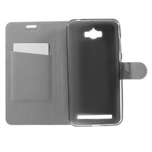 Horse peňaženkové puzdro pre Asus Zenfone Max - modré - 6