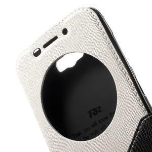 Diary peněženkové pouzdro s okýnkem na Asus Zenfone Max - bílé - 6