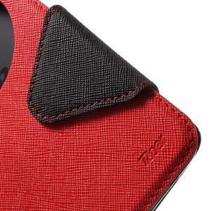 Diary peněženkové pouzdro s okýnkem na Asus Zenfone Max - červené - 6