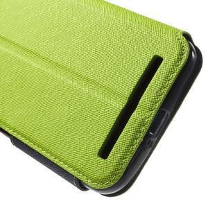 Diary peněženkové pouzdro s okýnkem na Asus Zenfone Max - zelené - 6