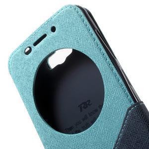 Diary peněženkové pouzdro s okýnkem na Asus Zenfone Max - světlemodré - 6