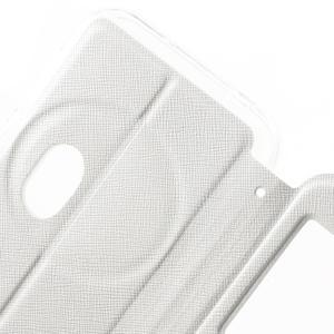 Peněženkové pouzdro s okýnkem na Asus Zenfone Zoom - bílé - 6