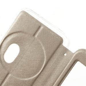Peňaženkové puzdro s okienkom pre Asus Zenfone Zoom - zlaté - 6