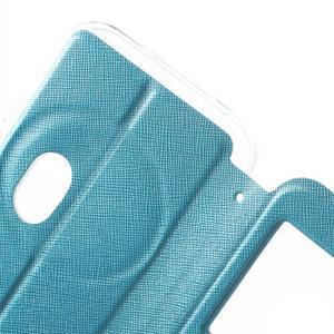 Peněženkové pouzdro s okýnkem na Asus Zenfone Zoom - modré - 6