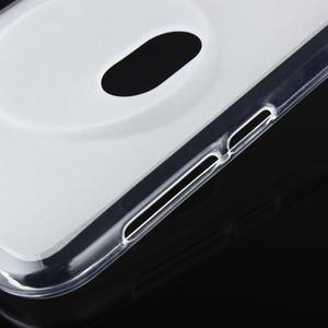 Gélový matný obal pre mobil Asus Zenfone Zoom - biely - 6